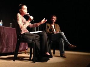 Marina defende novas eleições em encontro com classe artística