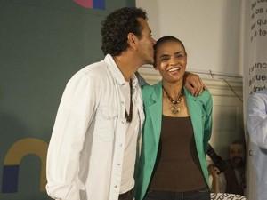 Marcos Palmeira arma bate-papo com Marina Silva no Rio