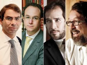 José Luís de Oliveira Lima, Adriano Bretas, Pierpaolo Bottoni e Antônio Carlos de Almeida Castro