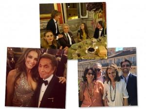 O fim de semana em Roma dos jet-setters que foram à ópera. Aos cliques!