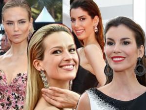 Direto de Cannes: penteados com spray e fios para trás invadem o red carpet
