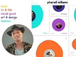 Pharrell Williams coloca no ar site com retrospectiva de 20 anos de carreira