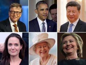 Bill Gates e Angelina Jolie lideram lista dos mais admirados do mundo