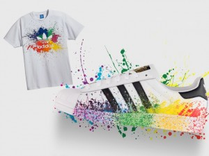 Adidas Originals traz ao Brasil linha especial para a Parada Gay