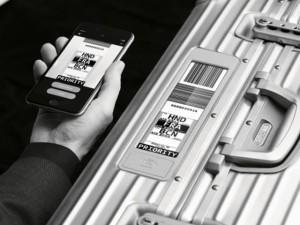 Rimowa lança mala com tag virtual. Adeus papéis e adesivos na mala!