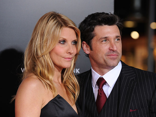 Patrick Dempsey e Jillian Fink || Créditos: Getty Images