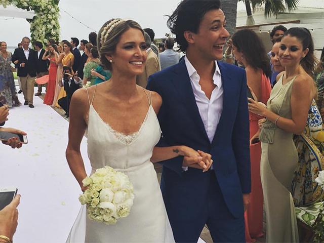 Helena Bordon e Humberto Meirelles a caminho do altar || Créditos: Reprodução Instagram