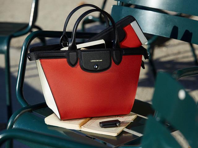Linha Le Pliage Héritage Tricolore da Longchamp
