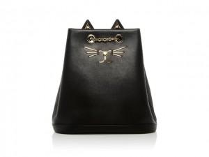 Desejo do Dia: a mochila Feline Charlotte Olympia. Irresistível!