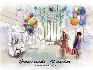 Promenade Chandon chega ao Rio com arte, moda e gastronomia