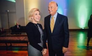 Premiação da ADVB para Marcos Arbaitman no Buffet França