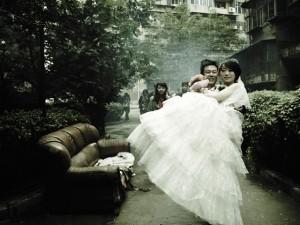 Felizes para sempre: as noivas chinesas pelas lentes de Maurício Nahas