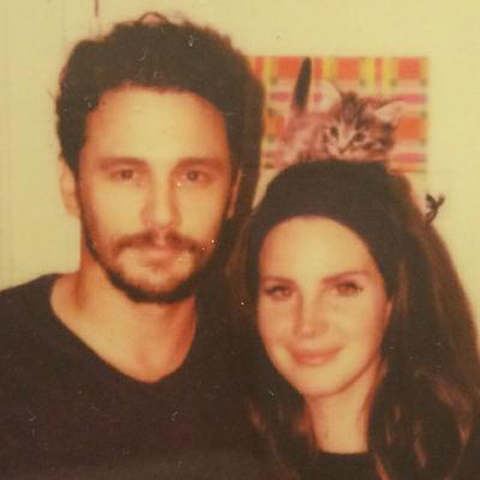 James Franco e Lana Del Rey  ||  Créditos: Reprodução Instagram