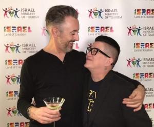 Lea DeLaria e Alan Cumming são embaixadores da Parada Gay de Israel