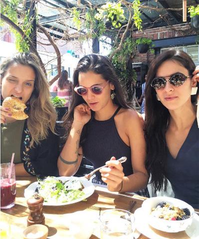 Carol Macea, Renata Vanzetto e Roberta Julião no The Standard High Line