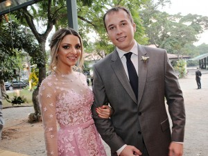 Contagem regressiva para o casamento de Sarah Mattar e Tiago Diniz