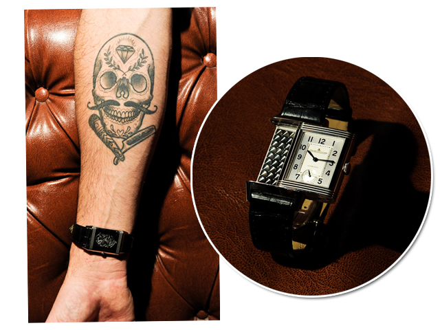 Relógio Jaeger Le Coultre para Bruno Van Enck || Créditos: Divulgação