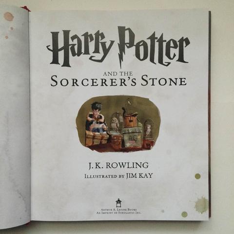 Manuscrito do primeiro livro da série  || Créditos: Getty Images