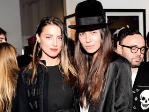Bomba! Amber Heard já foi detida por agredir ex-namorada