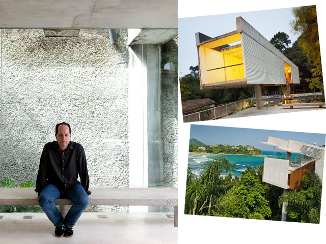 O arquiteto Angelo Bucci comanda a roda de papo no Superbacana+