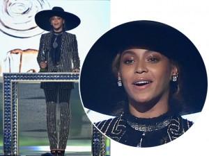 Beyoncé usa mais de R$ 30 mi em diamantes para receber prêmio em NY
