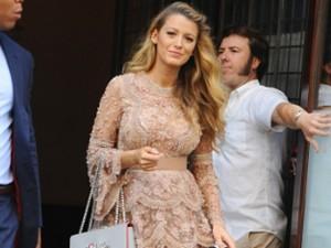 Blake Lively: como estar grávida e se manter cheia de charme. Vem ver!