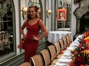 Charlotte Olympia arma almoço de luluzinhas em Londres