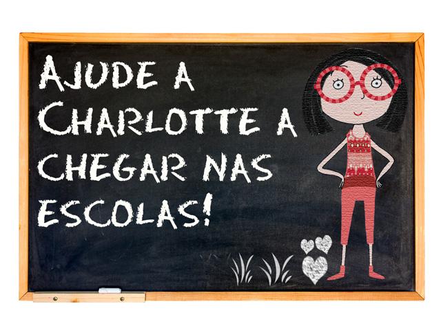 Com 31% do crowdfunding atingido para o projeto da animação, o objetivo é levar os livros da Charlotte até escolas públicas     Créditos: Divulgação