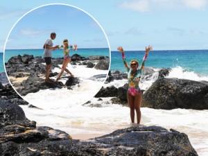 Beyoncé escolhe body de uma marca brasileira para curtir férias no Havaí
