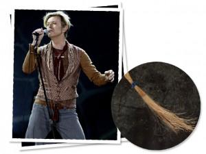 Mecha do cabelo de David Bowie é vendida em leilão por R$ 62 mil