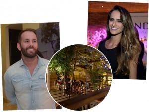 Tata Werneck, Pablo Moraes e Alexandre Accioly vão curtir a sexta juntos