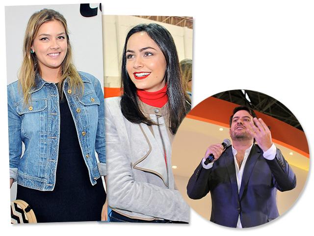 Marcela e Luciana Tranchesi e Bruno Astuto  || Créditos: Bruna Guerra