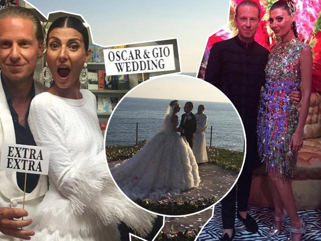 Giovanna Battaglia e Oscar Engelbert fazem tremer a ilha de Capri || Créditos: Divulgação