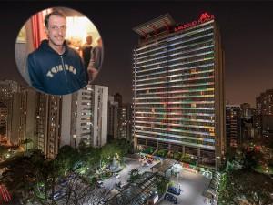 Felipe Morozini dá nova cara à suíte presidencial do Maksoud Plaza