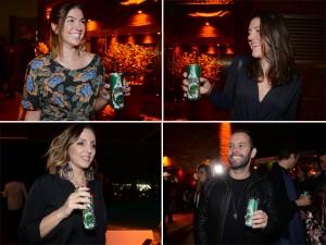 Perrier refrescou os convidados na festa do Glamurama no Rio