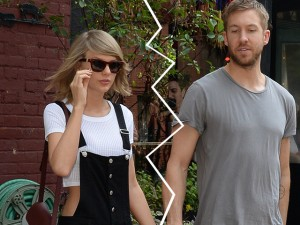 Taylor Swift e Calvin Harris não formam mais um casal