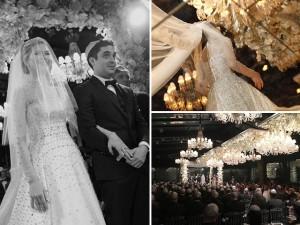 Neto de Samuel Klein, Philip Klein se casa em SP com Juliana Maia