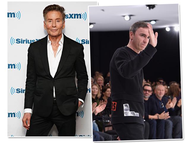 Calvin Klein e Raf Simons: suspense na moda...      Créditos: Getty Images