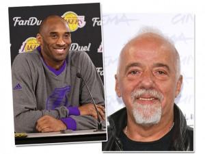 Ex-jogador de basquete Kobe Bryant quer fazer livro com Paulo Coelho. Oi?
