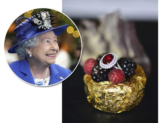 Sobremesa digna de rainha  ||  Créditos: Reprodução / Getty Images