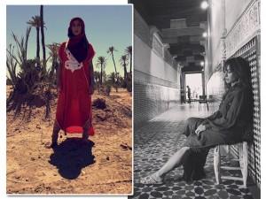 Sabrina Sato vira beduína e desbrava o Marrocos em seu programa