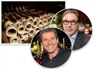 Rogério Fasano e Alexandre Accioly lançam edição especial do Corriere Fasano no RJ