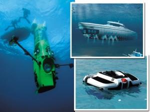 De hidromassagem a adega: os submarinos que são brinquedos de luxo