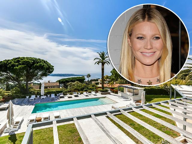 """A """"casa da praia"""" de Gwyneth Paltrow em Cannes"""