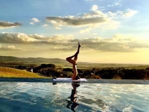 No Dia Internacional da Yoga, uma seleção de cliques para se inspirar