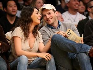 Mila Kunis e Ashton Kutcher estão esperando o segundo filho