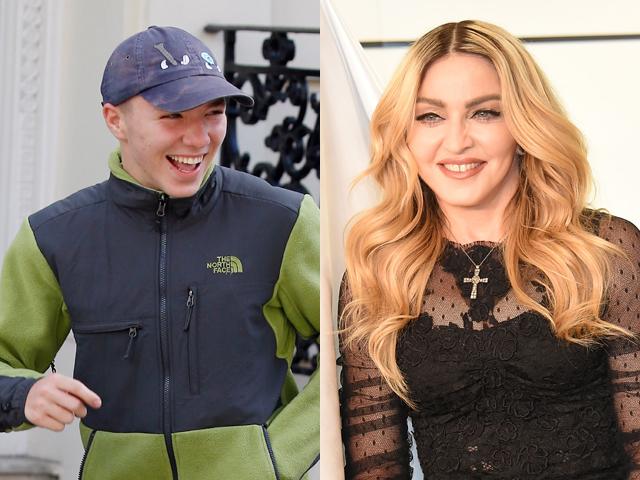 Rocco Ritchie em paz com Madonna    Créditos: Getty Images