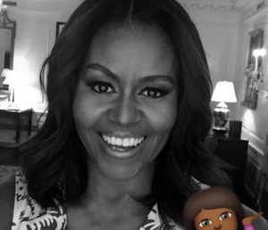 """Oh, hey!"", Michelle Obama inaugura conta no Snapchat!"
