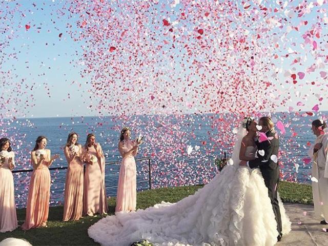 Os highlights da 2ª festa de casamento de Giovanna Battaglia e Oscar Engelbert