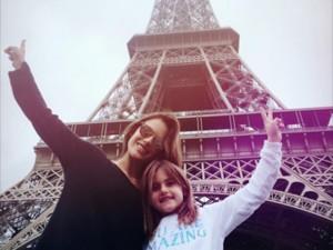 Passatempo do dia: turistando com Alessandra Ambrosio e sua filha Anja